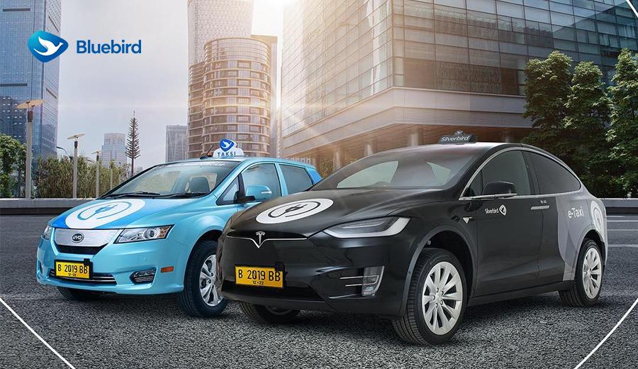 Bluebird mengenalkan mobil listrik yang akan menjadi armada taksinya dan diberi nama e-Taxi