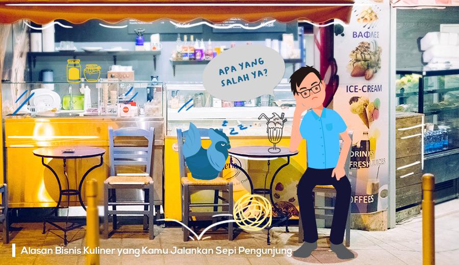 Alasan bisnis kuliner sepi pengunjung