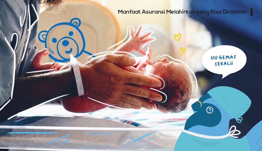 Manfaat asuransi melahirkan yang bisa kamu nikmati