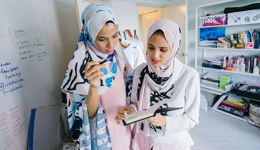 Tips jalani bisnis hijab agar untung