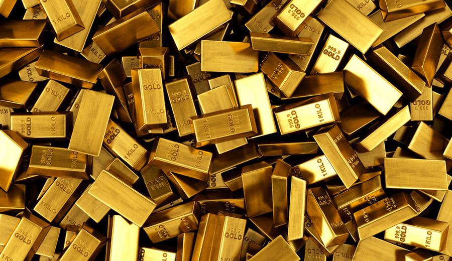 Kenaikan harga emas pada awal pekan agustus