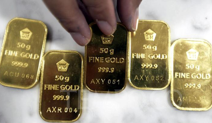 Harga emas hari ini.