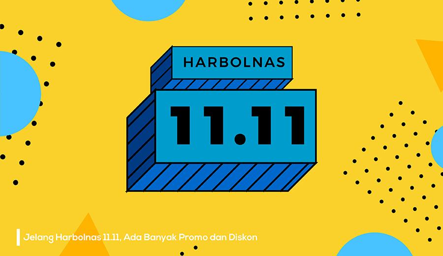 Harbolnas 11.11 akan ada banyak promo.